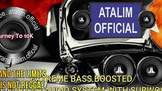 Tom and the Limits - This Is Not Reggae Extreme Bass Boosted Subwoofer Test Song [ atalim official ]