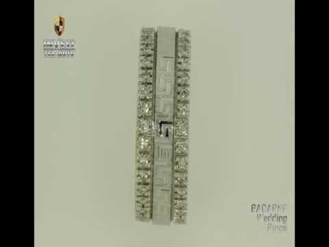 Женские и мужские оригинальные обручальные кольца из Израиля