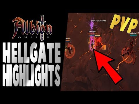 Albion Online   2v2 Hellgate Highlights   Mace and Xbow