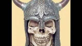 Viking Skull :: Blackened Sunrise