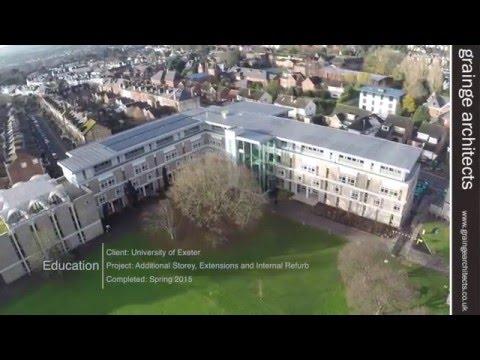 Grainge Architects  -  South Cloisters, University of Exeter