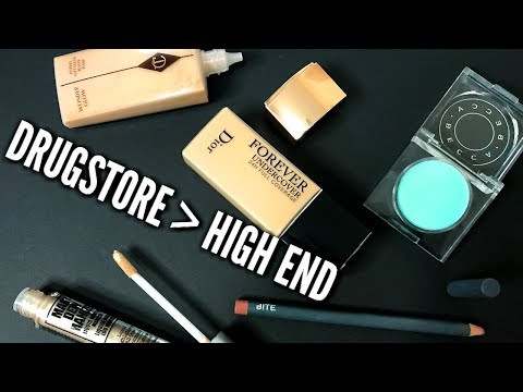 BEYOND DUPES: 5 Times Drugstore Did it Better