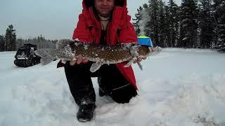 первая Рыбалка на озере в новом году 09 01 2021