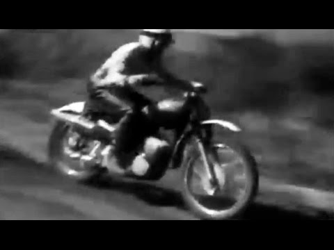 1968 Motocross Szczecin Track Poland - Winner Joël Robert from Belgium