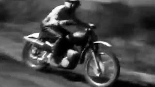 1968 Motocross Szczecin Track Poland - Winner Joël Robert from Belgium