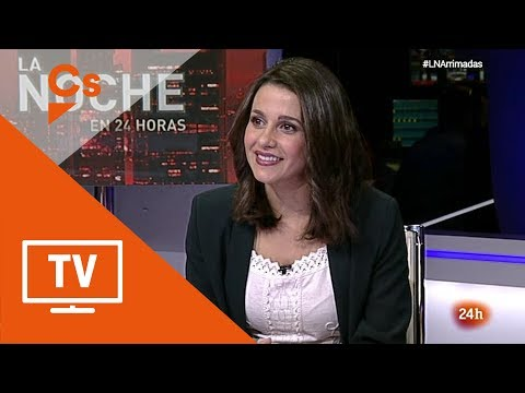 "Inés Arrimadas. Entrevista en ""La Noche en 24 horas"" thumbnail"