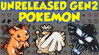 UNRELEASED POKEMON LEAK! All Gold And Silver Beta Pokemon!