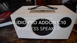 Audio Pro Addon C10 Wireless Speaker Test & Review By The HiFi Jedi