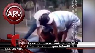 Hombre Acuchilla Salvajemente A Padres En México | Al Rojo Vivo | Telemundo