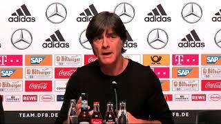 Joachim Löw - Die Highlights der PK nach dem Spiel gegen Spanien 23.03.18