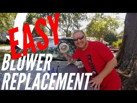 2014 Chrysler Town and Country Rear Blower Motor Replacement Step by Step Tutorial