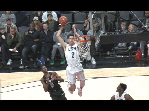 Team USA vs The World! 2017 Nike Hoop Summit Game in Portland - Michael Porter Jr, Collin Sexton