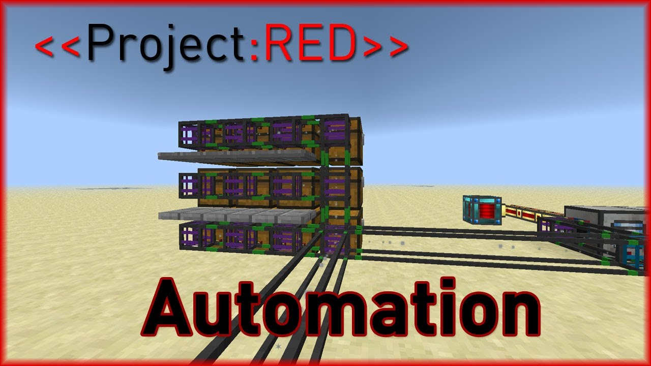 Project Red Transportation | Automation with Machines