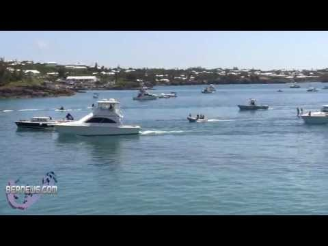 Finishing The Around The Island Powerboat Race, Aug 12 2012
