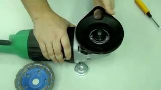 Кожух пылеотводящий (подходит к УШМ Hitachi 230mm) AVA 125H/K