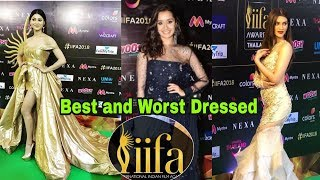 Best and Worst dressed Bollywood actresses at IIFA 2018 |Latest News