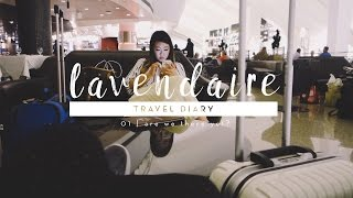 Europe Travel Diary 01 | Are we there yet?