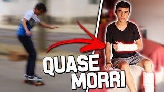 O DIA EM QUE QUASE MORRI!!