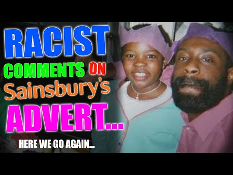 Sainsbury's Gravy Advert | Responding To Comments about Black Family & Tesco Cut Black Actors???