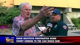 5-27-18 Burn Institute Firefighter Demo Derby,