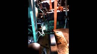 Séparation du moteur du john deere 2030