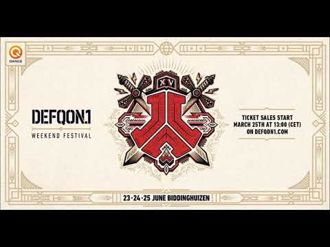 Andy The Core & Lady Damage @ Defqon.1 2017