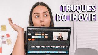 EDIÇÃO DE VÍDEO NO IMOVIE | Como Editar Vídeos Para O YouTube No iMovie