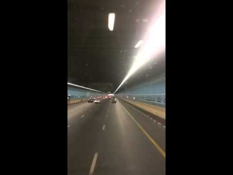 Airport Tunnel time lapse