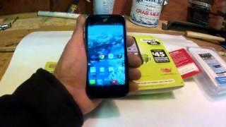 Straight Talk ZTE Majesty Smart Phone Review - YES - Verizon Network