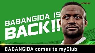 official pes 2016 myclub legends babangida is back