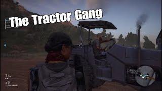 Our Tractor Adventure! | Ghost Recon Wildlands ( w/ Zeldafreak1111 & AoAW Alpha)