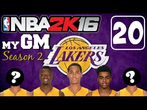 "NBA2K16 PC ""MyGM"" [Season 2 Lakers - 20] vs Mavericks! WE'RE BACK WITH A VENGEANCE IN AN OVERTIME!!!"