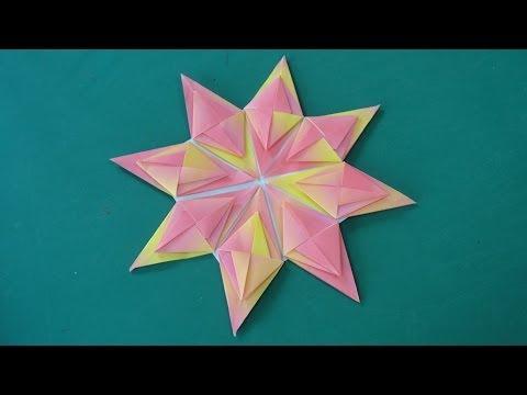 ����� �� ��� round origami quotflowerquot doovi