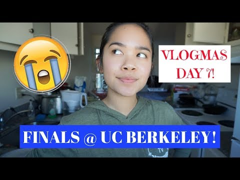 Prepping for FINALS at UC Berkeley! | VLOGMAS DAY 7- 2017