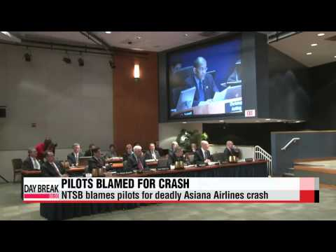 U.S. regulators blame pilots for deadly Asiana Airlines crash