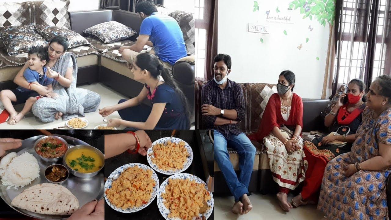 Sunday Special❣Dhaba Style Upma Or Baigan ke Bharte Ke Sath❣Dekho Kon Aya Hai Aaj...