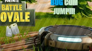 BUG WITH JUMP!!! | Fortnite