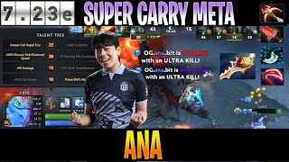 Ana - Puck MID | SUPER CARRY META 7.23e | Dota 2 Pro PUB Gameplay