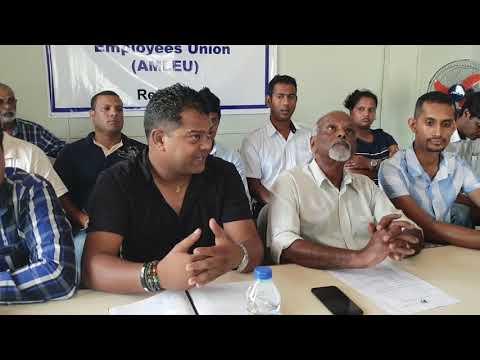Resumé Conférence De Presse Airports of Mauritius LTD 12.12.2018
