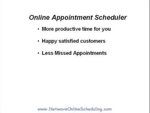 Time Saver - Allow customers to Schedule Online Appointments