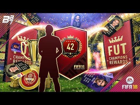 INSANE TOP 100 FUT CHAMPIONS REWARDS! | FIFA 18 ULTIMATE TEAM