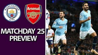Man City v. Arsenal | PREMIER LEAGUE MATCH PREVIEW | 2/3/19 | NBC Sports