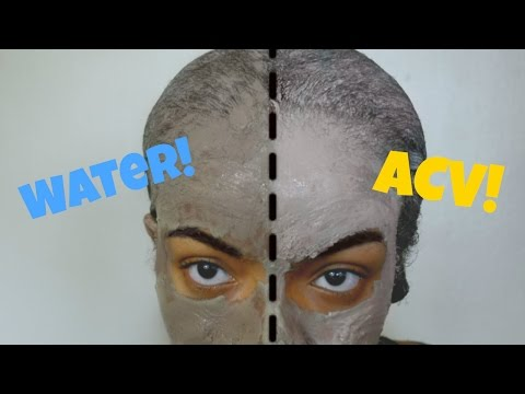 Bentonite Clay w/ Water vs. Bentonite Clay w/ ACV | DO NOT MIX THE CLAY WITH METAL--USE PLASTIC