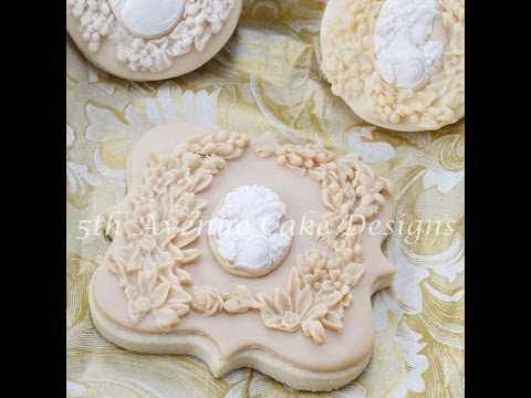How to create bas relief sculpture cookies and cakes youtube for Clay mural tutorial