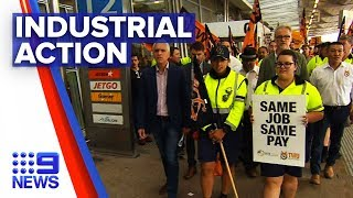 Jetstar Workers Strike Over Wages Dispute | Nine News Australia