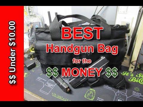 Best Handgun Bag For The Money