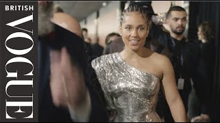 Alicia Keys Gets Ready For The 2020 Grammy Awards | British Vogue