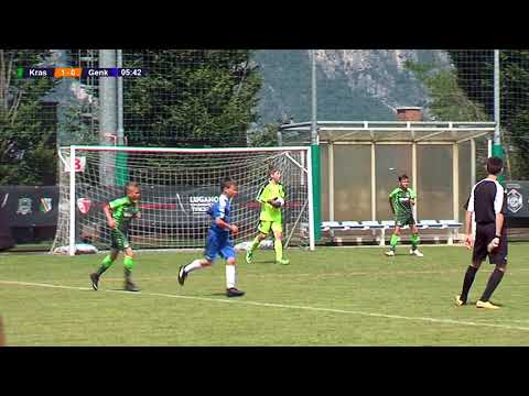 Krasnodar - Genk 1-2 (Group B) - Lugano Champions Trophy U11