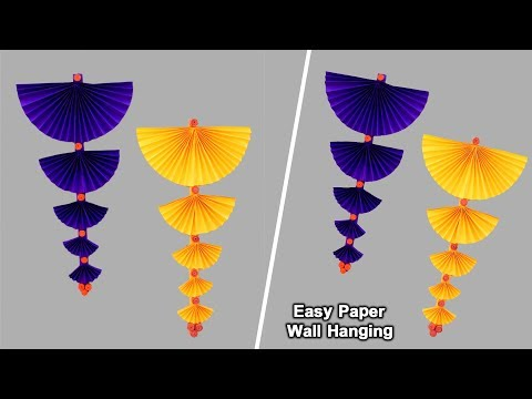 easy-paper-wall-hanging-and-door-decoration-craft-|-diy-home-decor-ideas-|-simple-paper-crafts