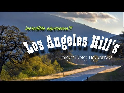 L.A. Hill: Night Drive Real Time footage. Incredible Experience